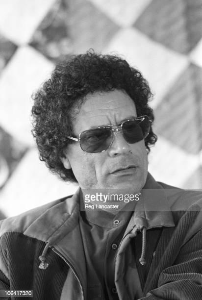 Libyan leader Colonel Moammar Gadhafi in November 1985