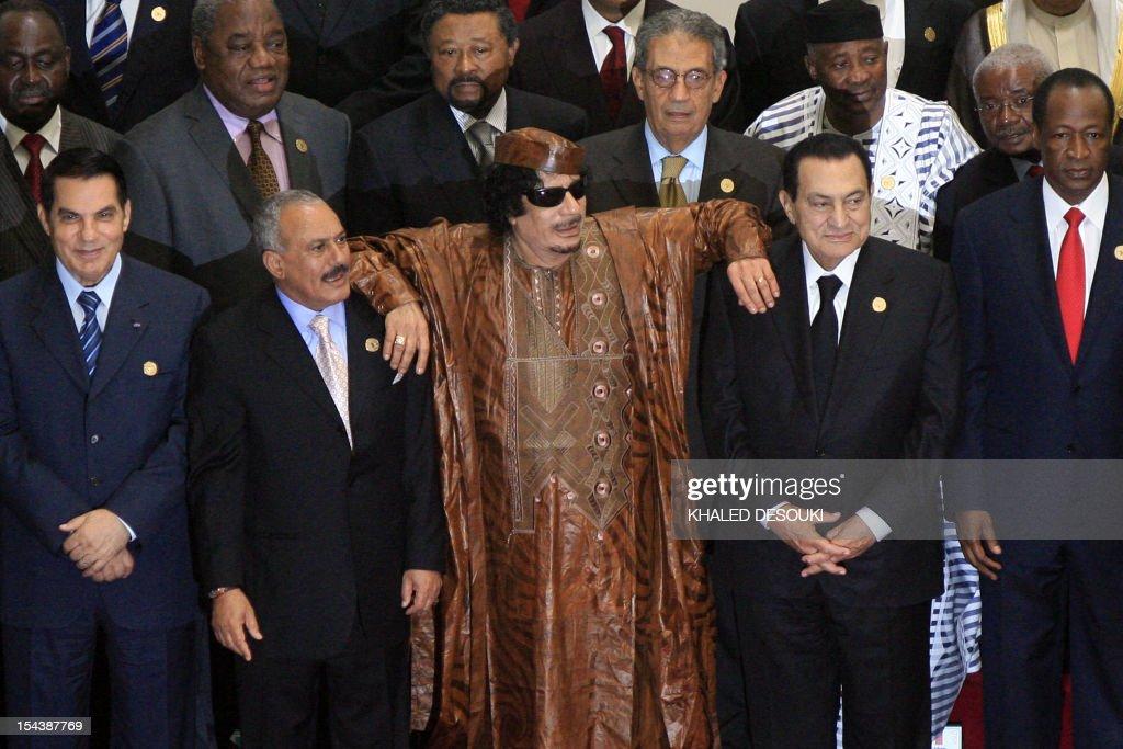 LIBYA-ARAB-AFRICA-SUMMIT-DIPLOMACY : Fotografía de noticias