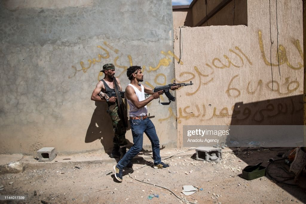 Clashes in Libya : News Photo