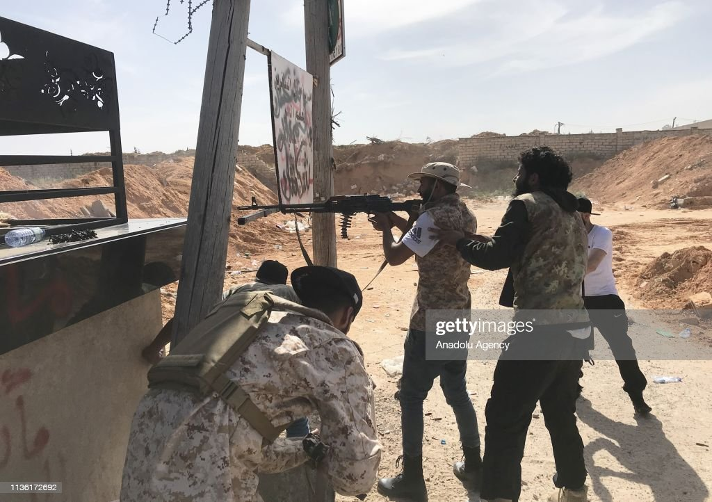 Clashes erupted between Haftar's forces and forces of Libyas Tripoli-based Government of National Accord (GNA) : Nachrichtenfoto