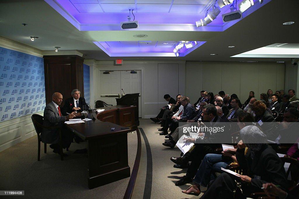 Libyan Opposition Representative, Paul Wolfowitz Discuss Libyan Crisis