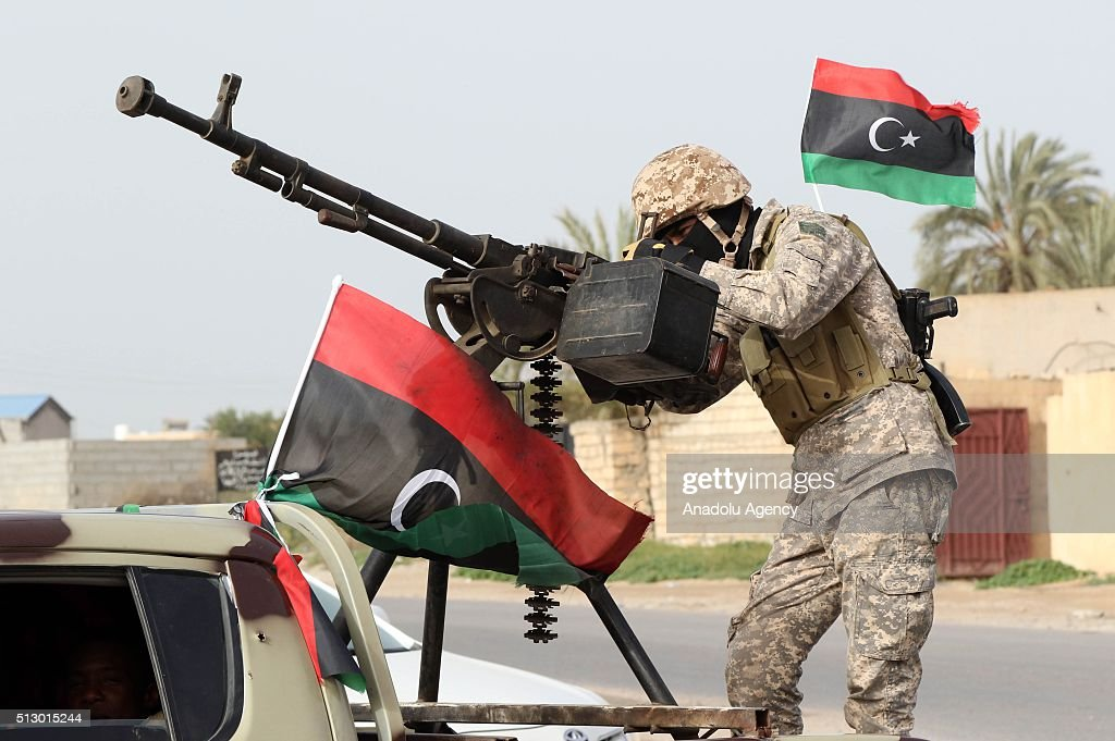 Libyan national security forces : News Photo