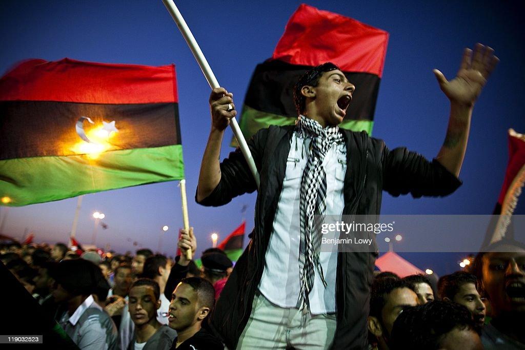 Libya Revolution 2011 : News Photo