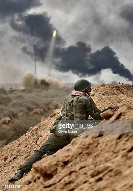 Libyan revolution. The Battle of Ra's Lanuf was a battle between forces loyal to Libyan leader Muammar Gaddafi and those loyal to the National...