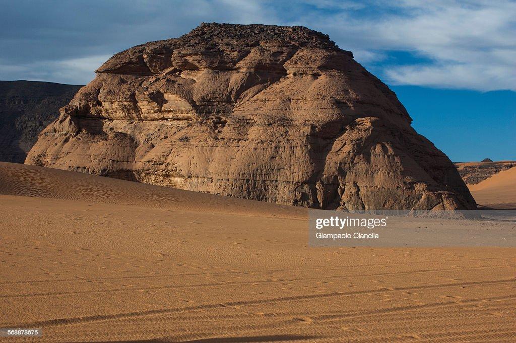 Libyan sahara desert : Stock Photo