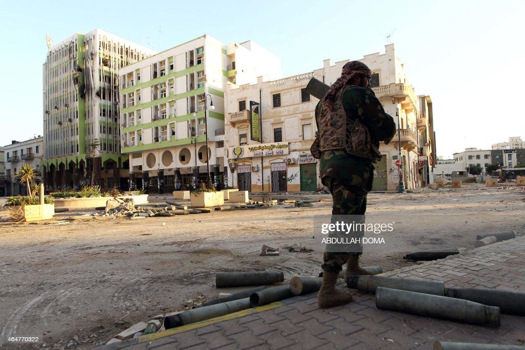 LIBYA-CONFLICT-BENGHAZI : ニュース写真