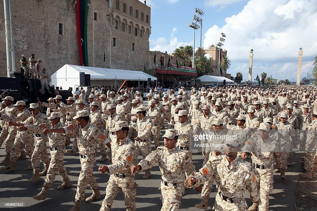 75th anniversary of the Libyan army's establishment : News Photo