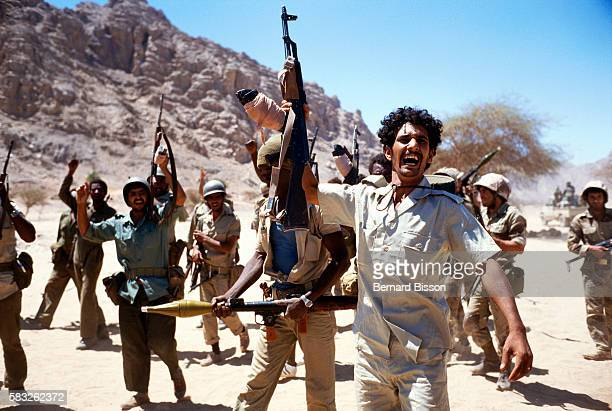 Libyan troops are overjoyed after their recapture of territory After nearly two decades of effort Colonel Moammar Gadhafi's imperial adventure in the...