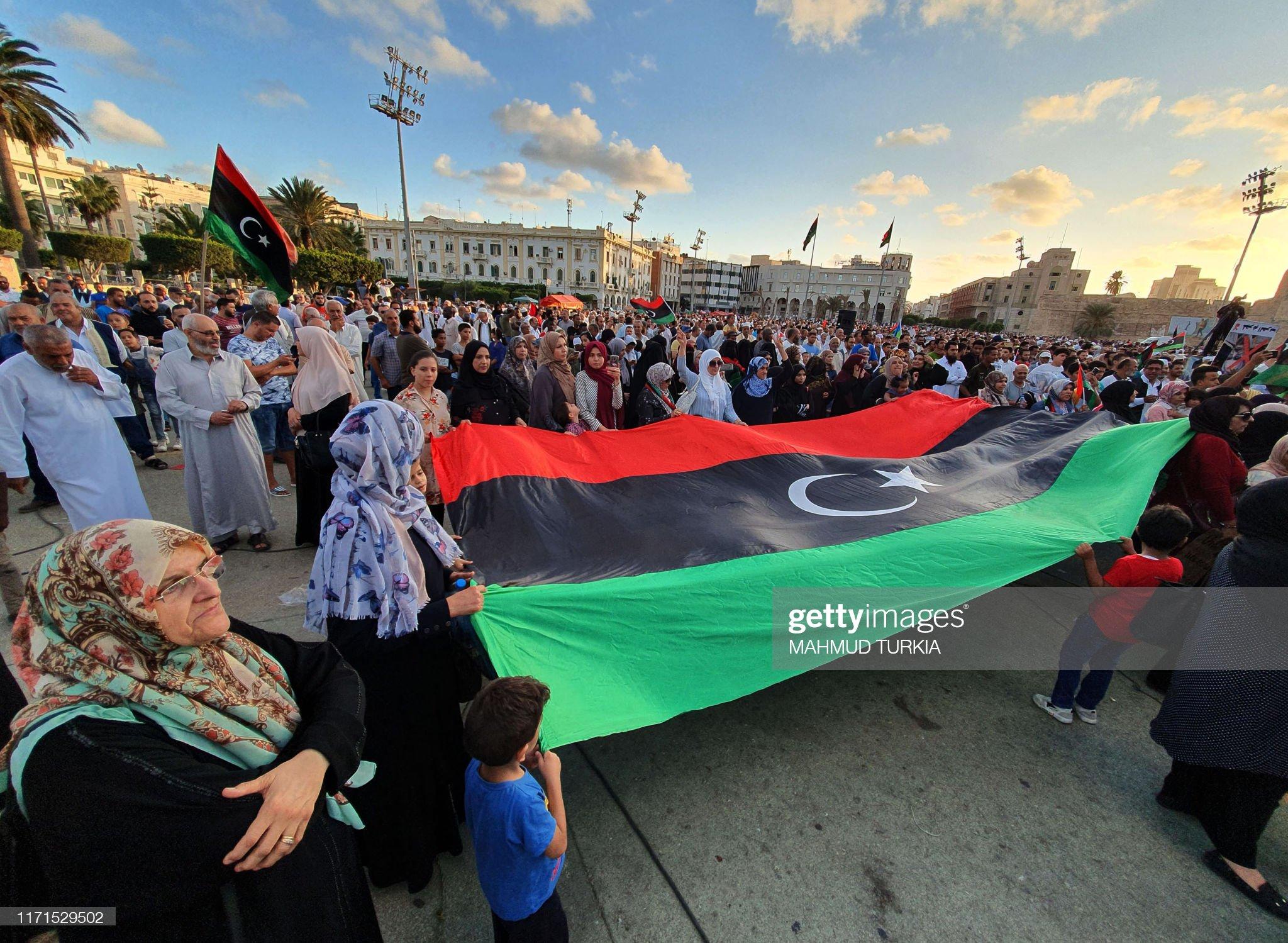 LIBYA-CONFLICT-DEMO : Foto di attualità