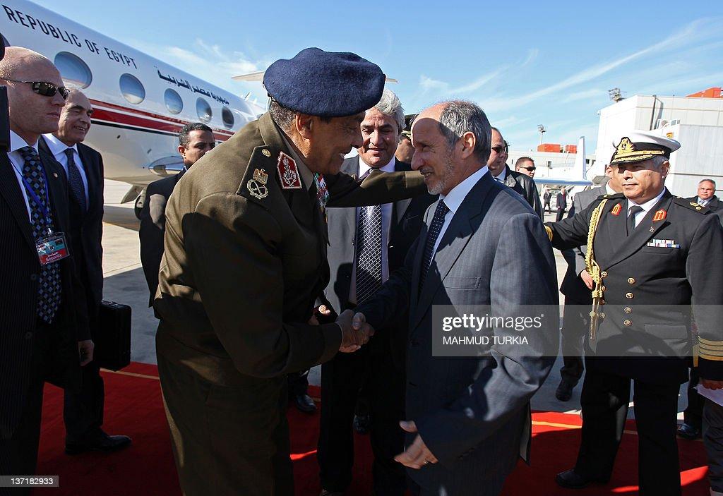 Libya's National Transitional Council (N : News Photo