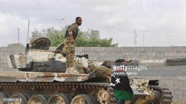 Libya's UN-recognized Government of National Accord forces attack the militias of renegade general Khalifa Haftar as they launch an operation in...