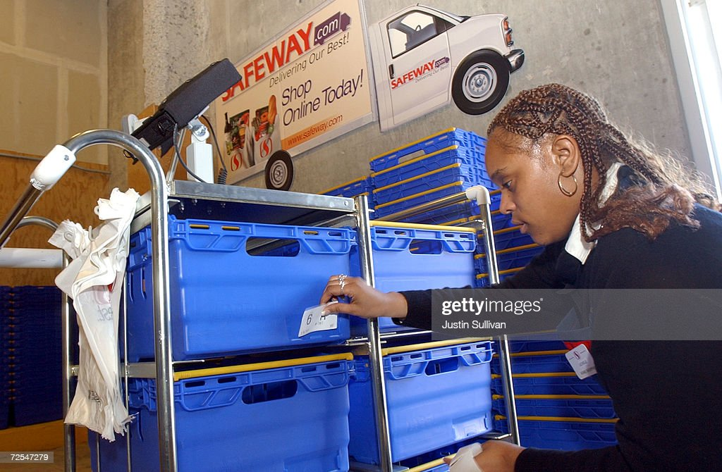 Safewaycom Home Delivery Launch In San Francisco Pictures Getty
