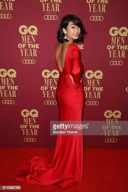 LiChi Pan attends the GQ Men Of The Year Awards at The Star on November 15 2017 in Sydney Australia