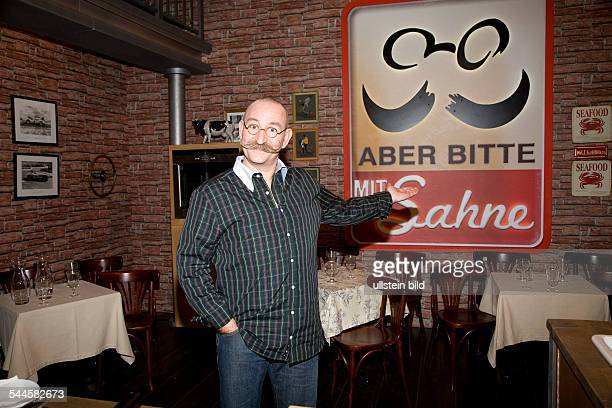 Lichter Horst Chef Germany at the studio of his TV show Aber bitte mit Sahne