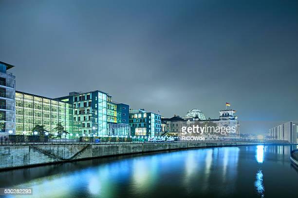 Lichtgrenze project lightening 'Berlin Wall'