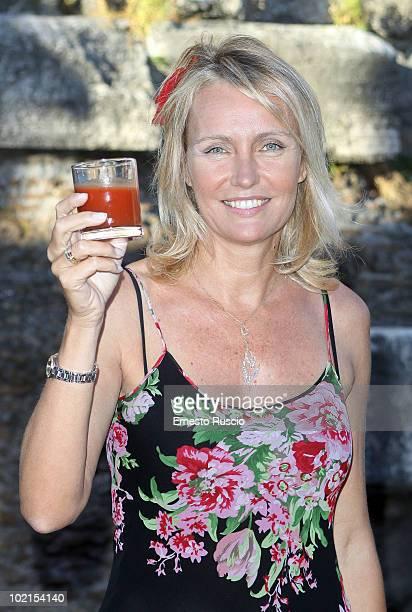Licia Colo attends the RAI Autumn / Winter 2010 TV Schedule Presentation at Castel Sant'Angelo on June 16 2010 in Rome Italy