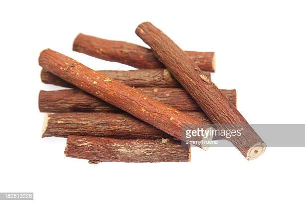 Licorice root, isolated