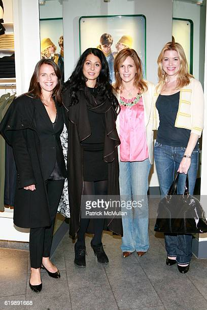Lide Goodwin Aida Khoursheed Tara Cathcart and Amy McFarland attend LACOSTE VOGUE Event to Celebrate Breast Cancer Awareness Month at LACOSTE Fifth...