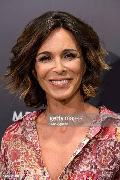 Lidia Bosch attends 'Placido En El Alma' Photocall at Estadio Santiago Bernabeu on June 29 2016 in Madrid Spain