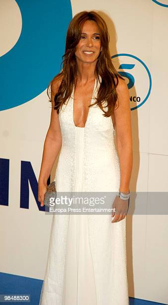 Lidia Bosch attends 'Telecinco 20th Anniversary' photocall on April 15 2010 in Madrid Spain