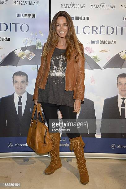 Lidia Bosch attends the premiere of 'El Credito' at Maravillas theater on October 7 2013 in Madrid Spain
