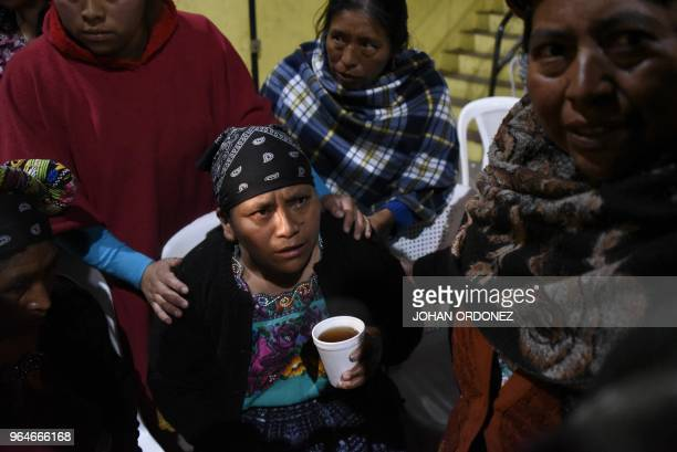 Lidia Gonzalez cries during the wake for her daughter Claudia Gomez a 19yearold Guatemalan woman who was allegedly shot and killed by a US border...