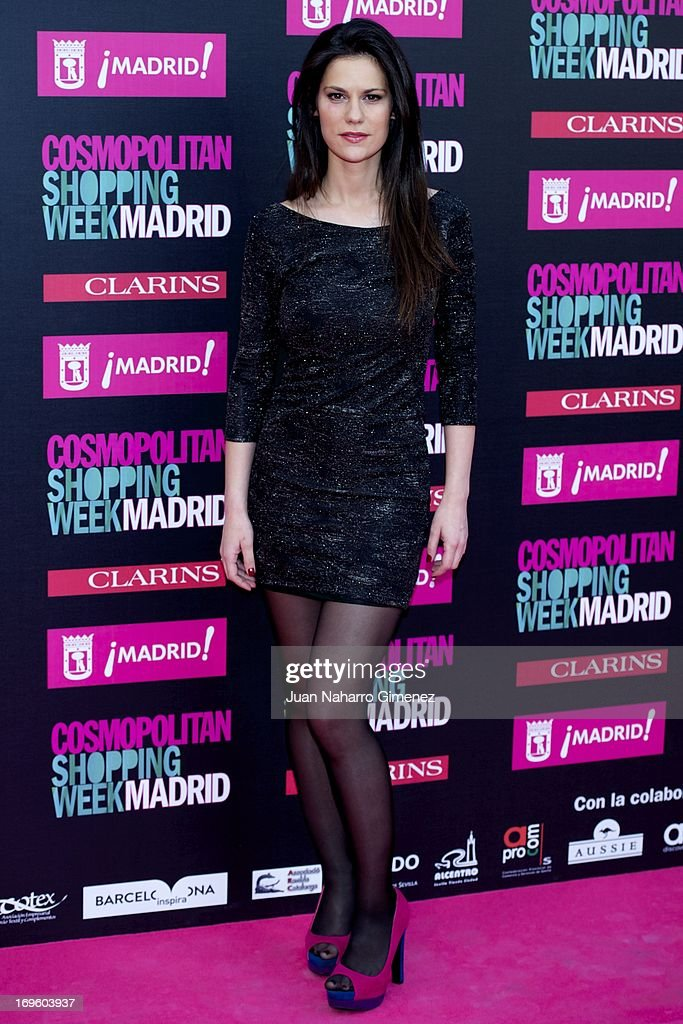 Lidia San Jose attends the 'Cosmopolitan Shopping Week' party at the Plaza de Callao on May 28, 2013 in Madrid, Spain.
