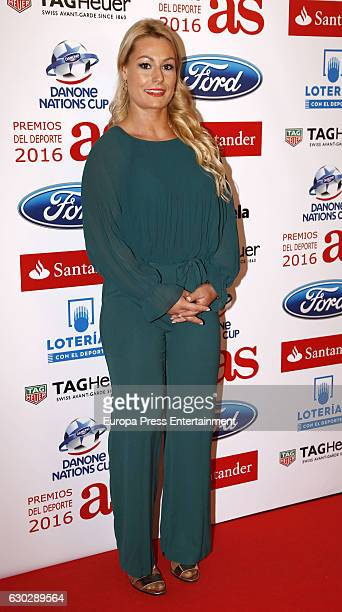 Lidia Valentin attends 'As Del Deporte' awards 2016 photocall at Palace Hotel on December 19 2016 in Madrid Spain