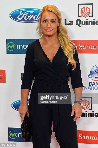 Lidia Valentin attends the 2015 'AS Del Deporte' Awards at The Westin Palace Hotel on December 14 2015 in Madrid Spain