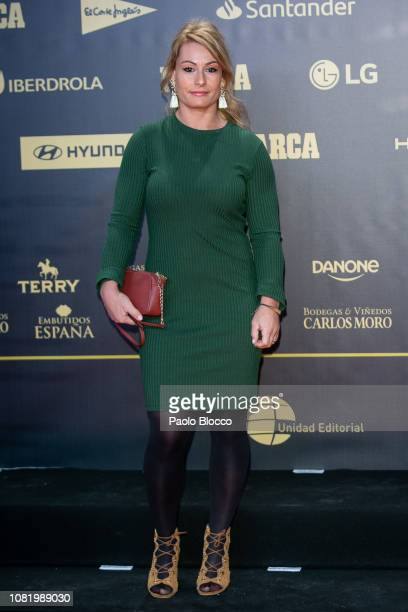 Lidia Valentin attends the 80th anniversary of Marca newspaper at Real Theatre on December 13 2018 in Madrid Spain
