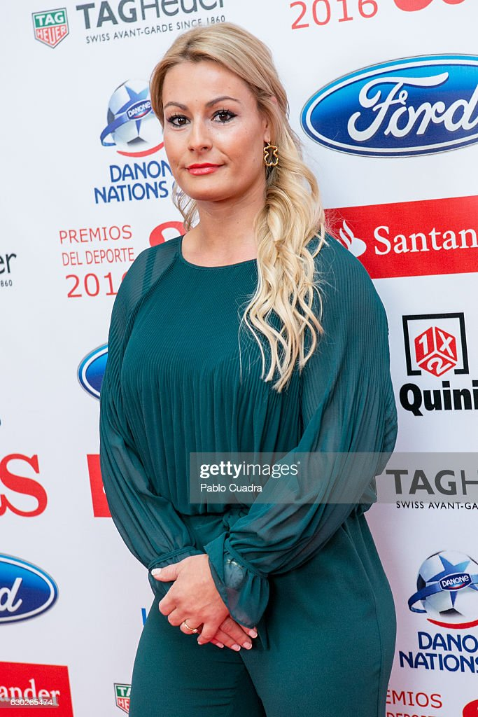 Lidia Valentin Attends The U0027AS Del Deporteu0027 Awards 2016 Gala At Westing  Palace Hotel