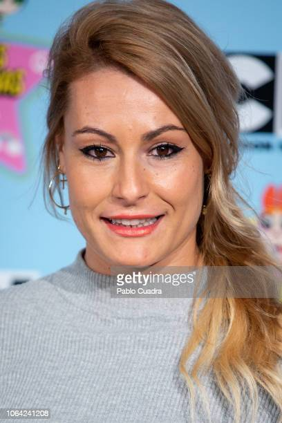 Lidia Valentin attends the 'Supernenas Awards' photocall on November 22 2018 in Madrid Spain