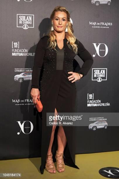 Lidia Valentin attends the 'YO DONA' International Awards 2018 at Palacio de Linares on October 3 2018 in Madrid Spain