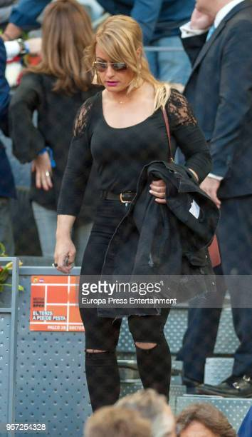 Lidia Valentin is seen attending the Mutua Madrid Open tennis tournament at the Caja Magica on May 10 2018 in Madrid Spain