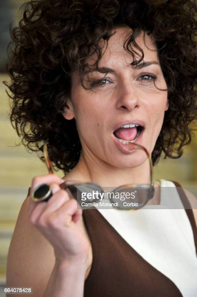 Lidia Vitale attends a photocall for 'The Startup' on April 3 2017 in Rome Italy