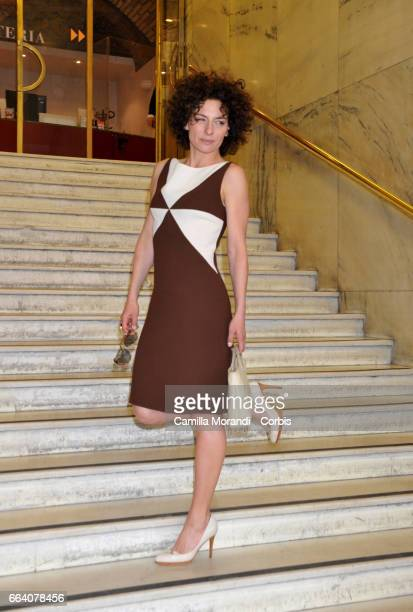 Lidia Vitale attends a photocall for 'The Startup' on April 3, 2017 in Rome, Italy.