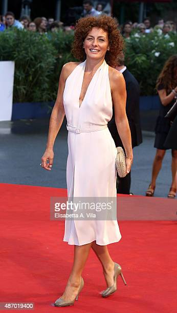 Lidia Vitale attends a premiere for 'A Danish Girl' during the 72nd Venice Film Festival at on September 5 2015 in Venice Italy