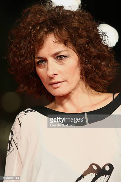 Lidia Vitale attends a red carpet for 'Lo Chiamavano Jeeg Robot' during the 10th Rome Film Fest on October 17 2015 in Rome Italy