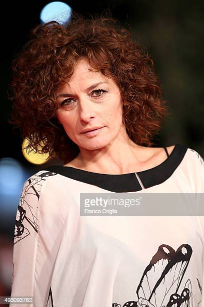 Lidia Vitale attends a red carpet for 'Lo Chiamavano Jeeg Robot' during the 10th Rome Film Fest on October 17, 2015 in Rome, Italy.