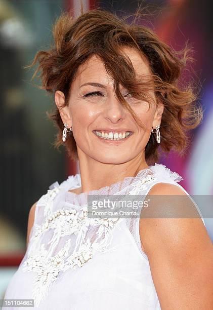 """Lidia Vitale attends """"E' Stato Il Figlio"""" Premiere during the 69th Venice Film Festival at the Palazzo del Cinema on September 1, 2012 in Venice,..."""