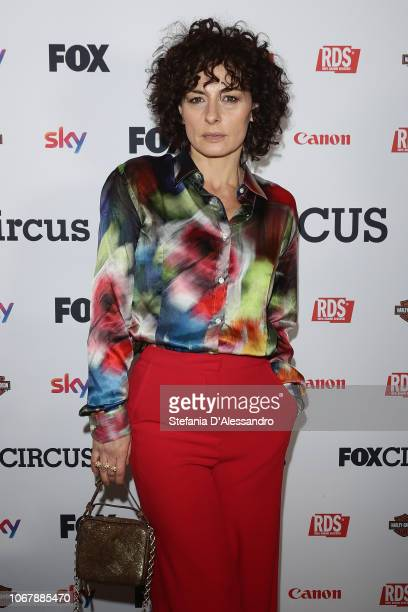 Lidia Vitale attends 'Fox Circus' event at BASE Milano on December 2 2018 in Milan Italy