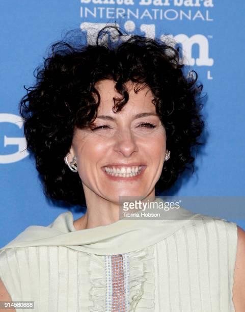 Lidia Vitale attends the 33rd Annual Santa Barbara International Film Festival Santa Barbara Award presentation at Arlington Theatre on February 4,...