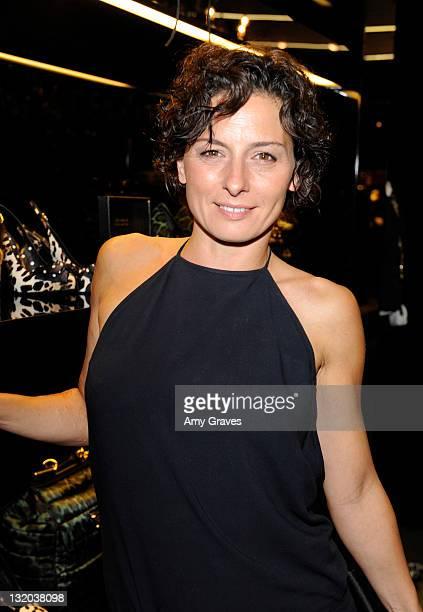 Lidia Vitale attends the Dolce Gabbana Terraferma Premiere Event on November 9 2011 in Beverly Hills California