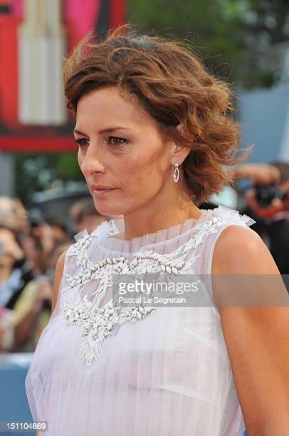Lidia Vitale attends the E Stato Il Figlio Premiere during The 69th Venice Film Festival at the Palazzo del Cinema on September 1 2012 in Venice Italy