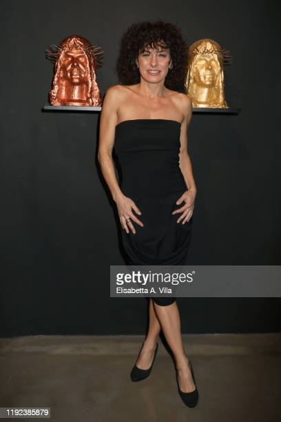 Lidia Vitale attends the Howtan Re Preview Party at Howtan Space on December 06 2019 in Rome Italy