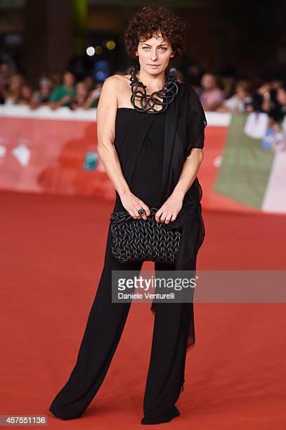 Lidia Vitale attends the 'La prochaine fois je viserai le coeur' Red carpet during the 9th Rome Film Festival on October 20 2014 in Rome Italy