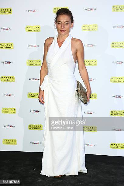 Lidia Vitale attends the 'Master Of Photography' photocall at Villa Medici on July 5, 2016 in Rome, Italy.