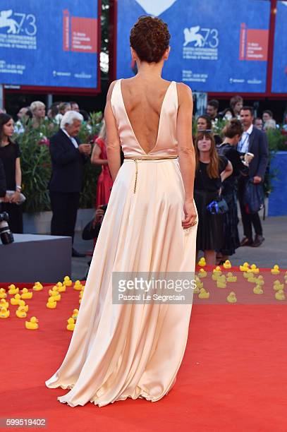Lidia Vitale attends the premiere of 'Piuma' during the 73rd Venice Film Festival at Sala Grande on September 5, 2016 in Venice, Italy.