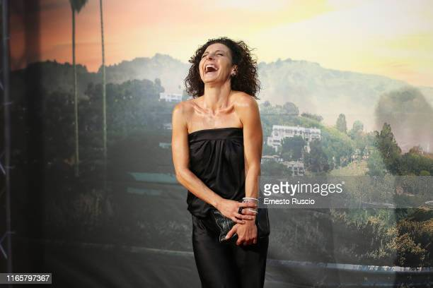 Lidia Vitale attends the premiere of the movie Once Upon a time in Hollywood at Cinema Adriano on August 02 2019 in Rome Italy