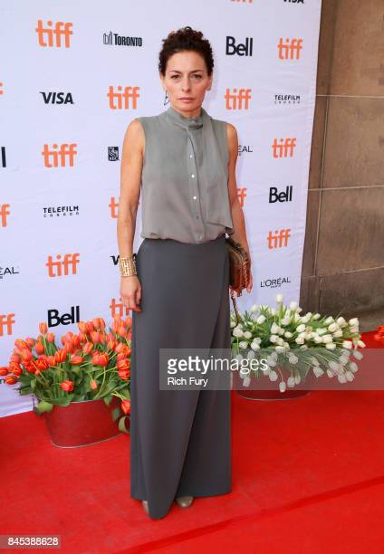 """Lidia Vitale attends the """"Tulipani, Love, Honour and a Bicycle"""" premiere during the 2017 Toronto International Film Festival at Ryerson Theatre on..."""